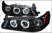 Dodge Aftermarket Headlights | Dodge Halo Headlights
