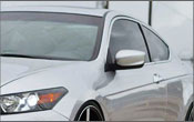 Mitsubishi Windshield Visors | Mitsubishi Tint Strips